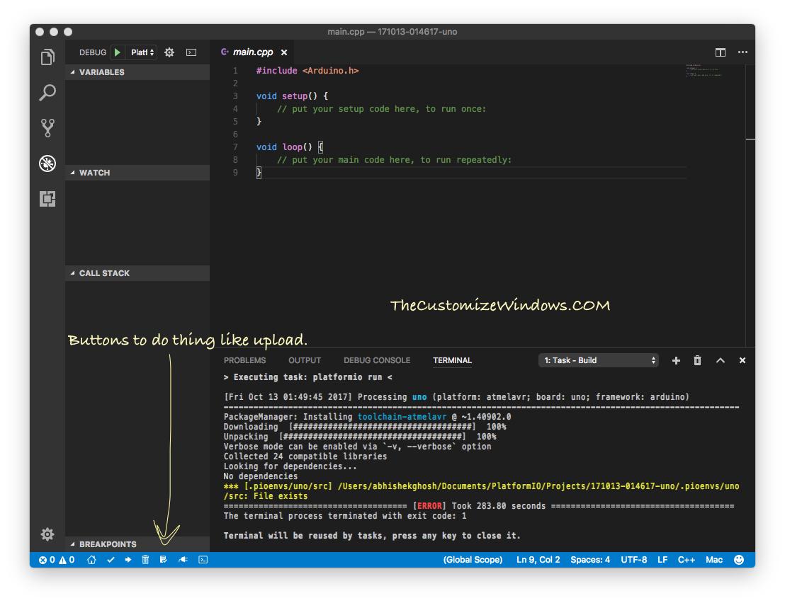 Setup Visual Studio Code on Mac For Debugging Arduino Part 3