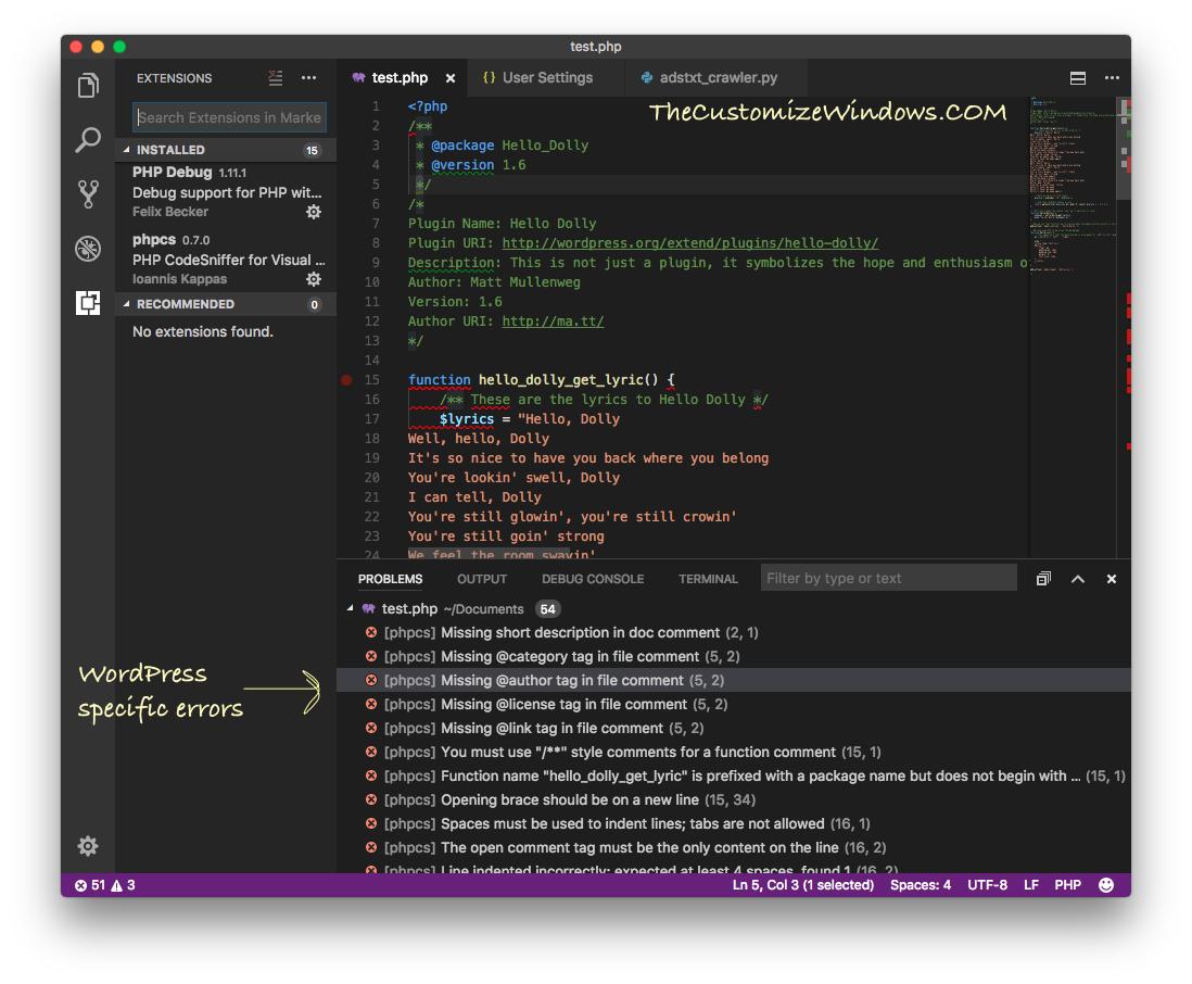 Setup Visual Studio Code on Mac For Debugging Arduino WordPress - Part 2