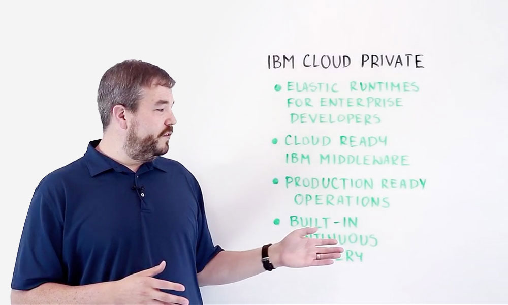 New IBM Cloud Private Software Based on Containers, Microservices and APIs