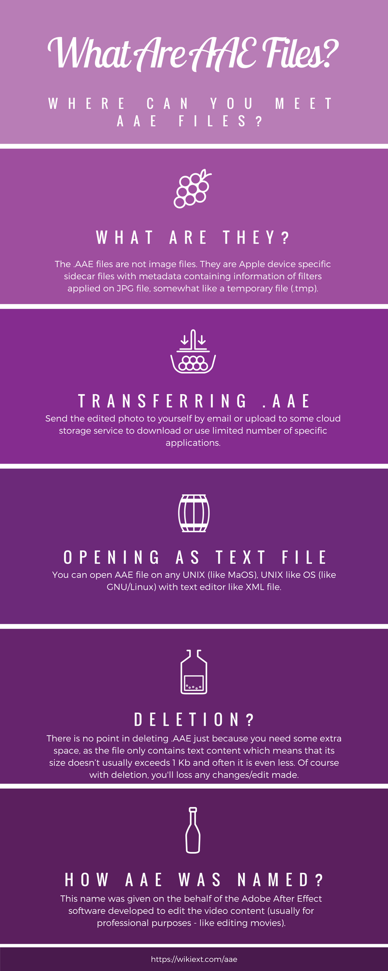 What Are AAE Files Where Can You Meet AAE File