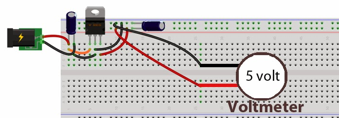 Voltage Regulation in Electronic Circuit