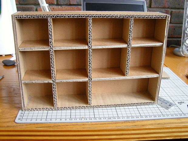 DIY Electronic Component Storage Cabinet