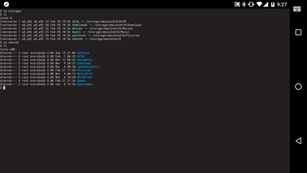 Initial Repo Setup For Termux Android Linux Environment