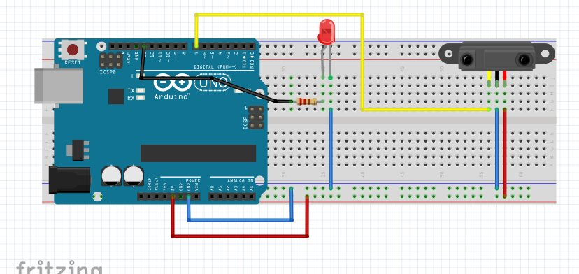 Arduino IR Obstacle Detection Sensor For Dimming LED Stop Event Facing Obstacle