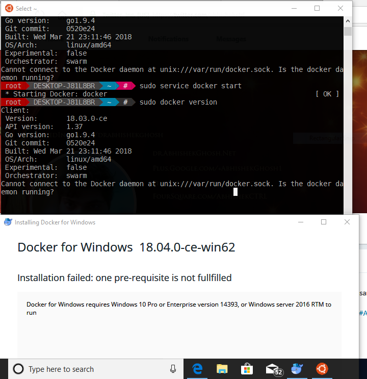 How to Run Docker on Windows 10
