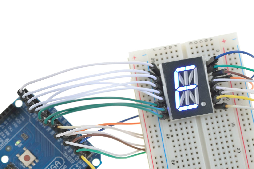 Arduino 14 Segment LED Display Driver IC & Library