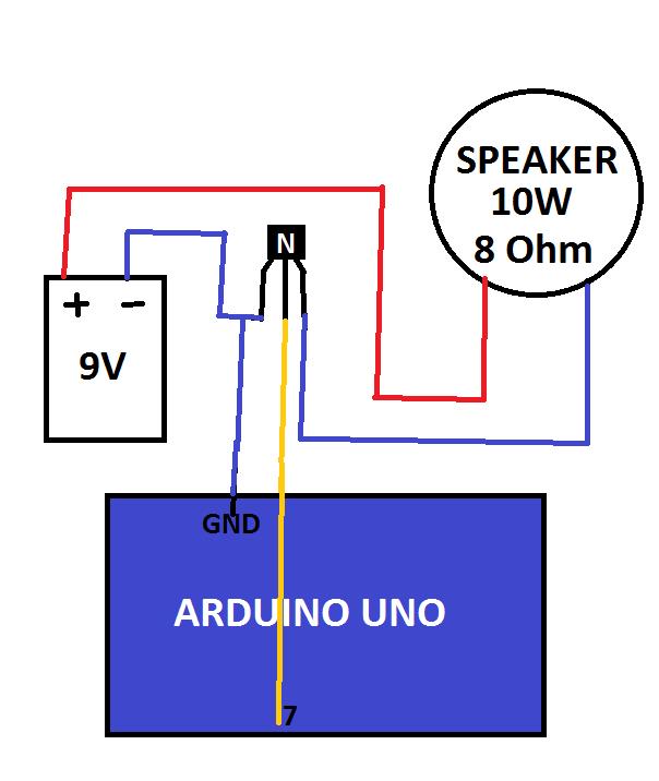 Transistor Piezo Buzzer Louder