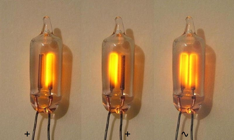 Neon Lamp (Power Indicator) and Nixie Tube