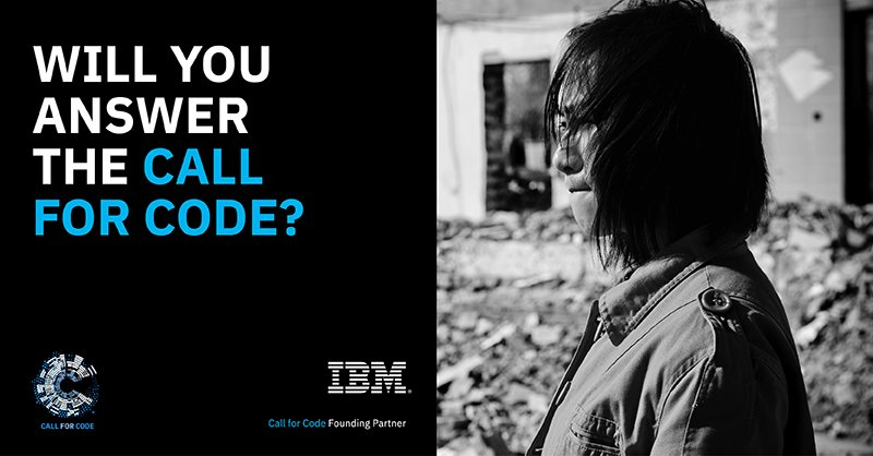 Developers Guide IBM Clouds Call for Code for Natural Disaster