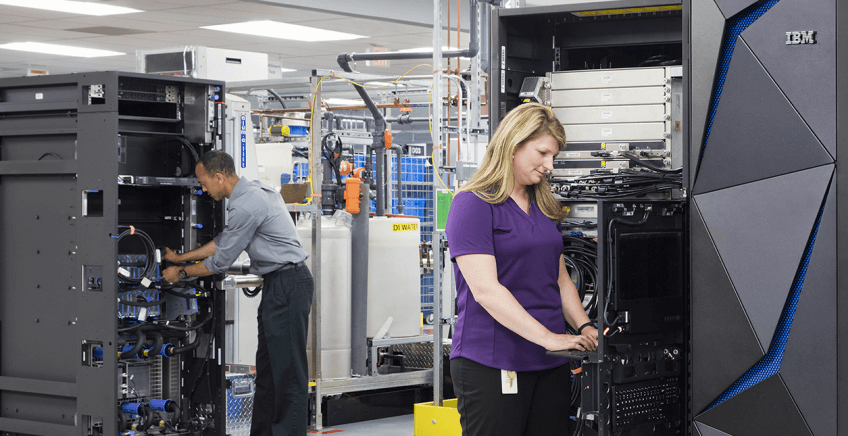 IBM Continues Mainframe Making Them Smaller in Scale