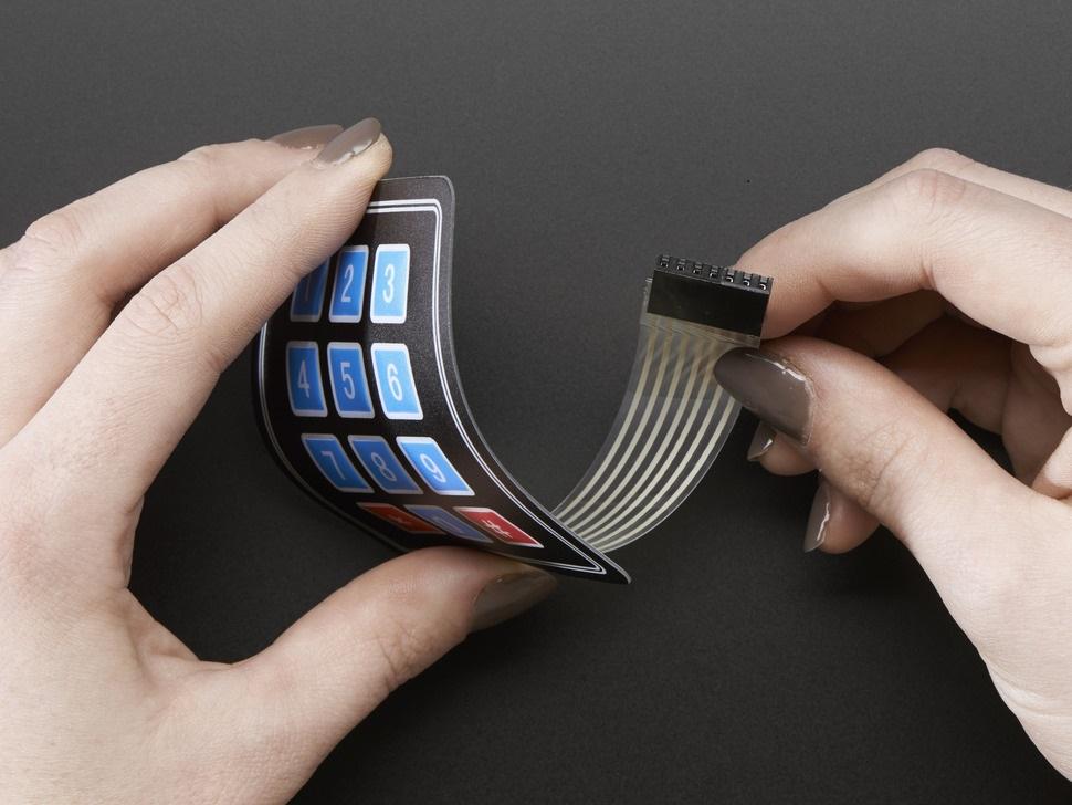 Arduino Membrane Matrix Keypad Basics Setup Code