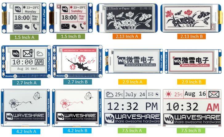 Arduino e-Paper e-Ink Buying Guide