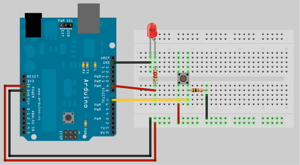 Arduino One Push Button Multiple Functions