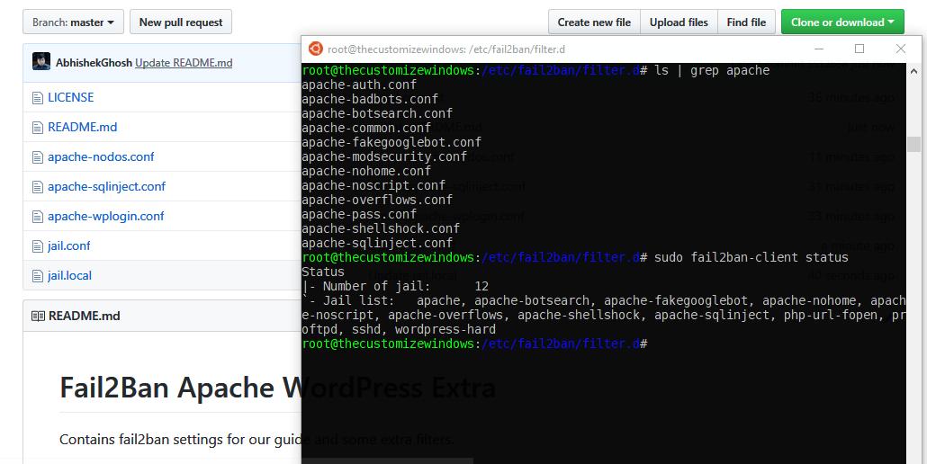 Configure Apache With Fail2Ban on Ubuntu 18-04