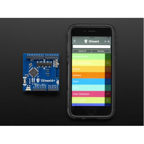 All the Sensors of Android Smartphone on Arduino With 1Sheeld+ Shield