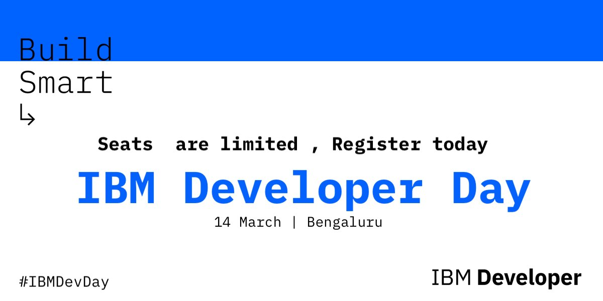 Why One Should Attend IBM Developer Day