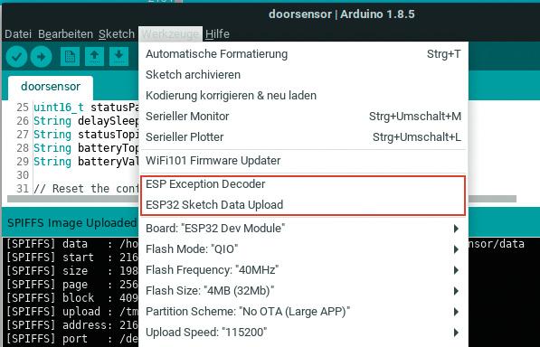 ESP32 Arduino What is SPI Flash File System SPIFFS
