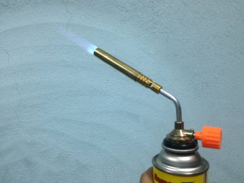 Butane Gas Blow Torch Welding for DIY Projects