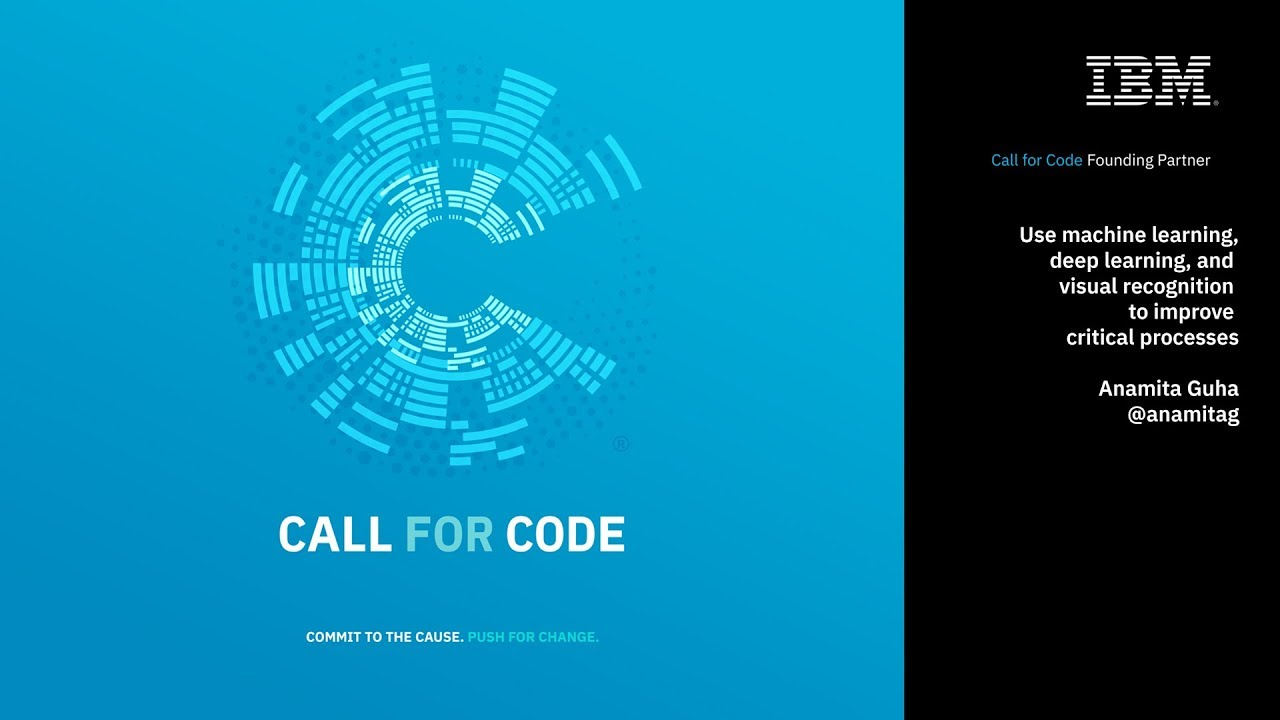 Call for Code 2019 second