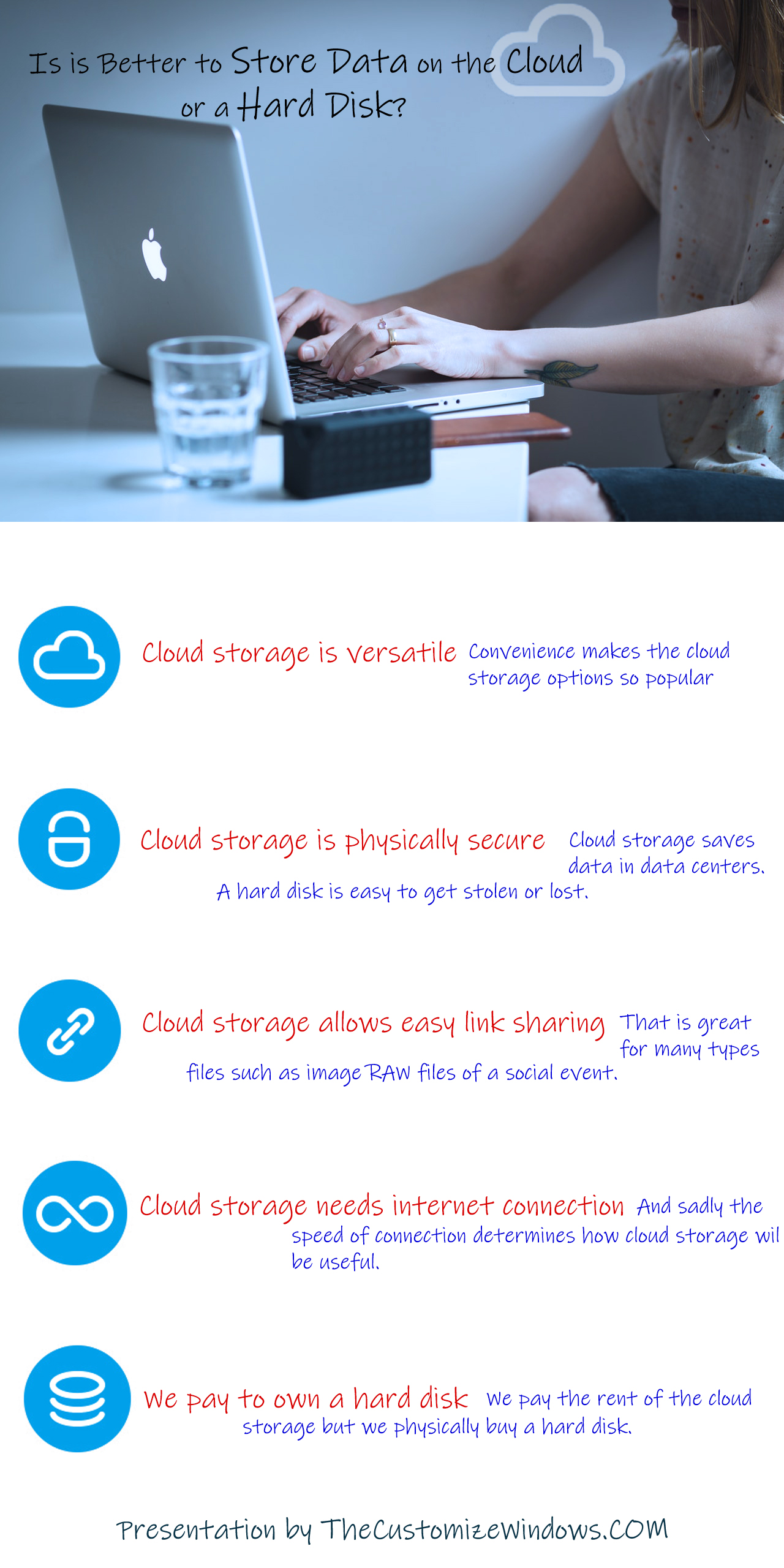 Is it Better to Store Data on the Cloud or on a Hard Drive