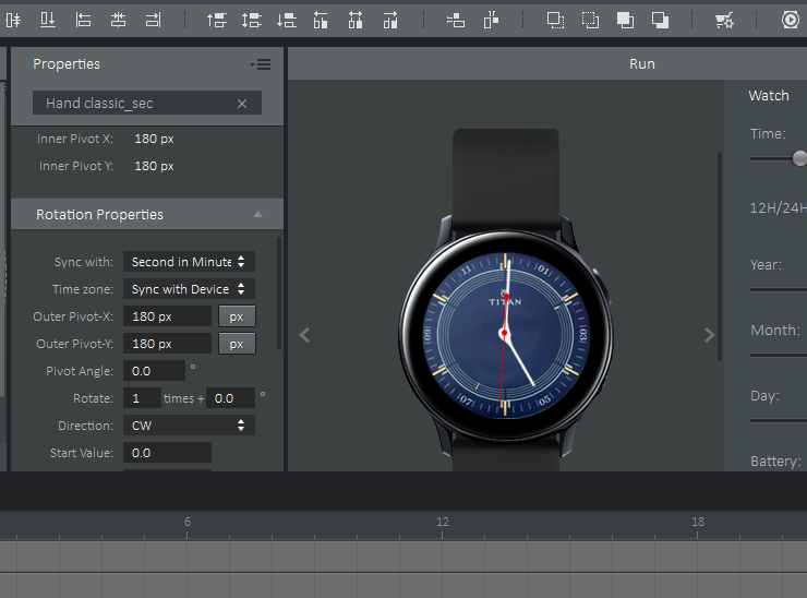 How to Create Watch Face Using Galaxy Watch Designer