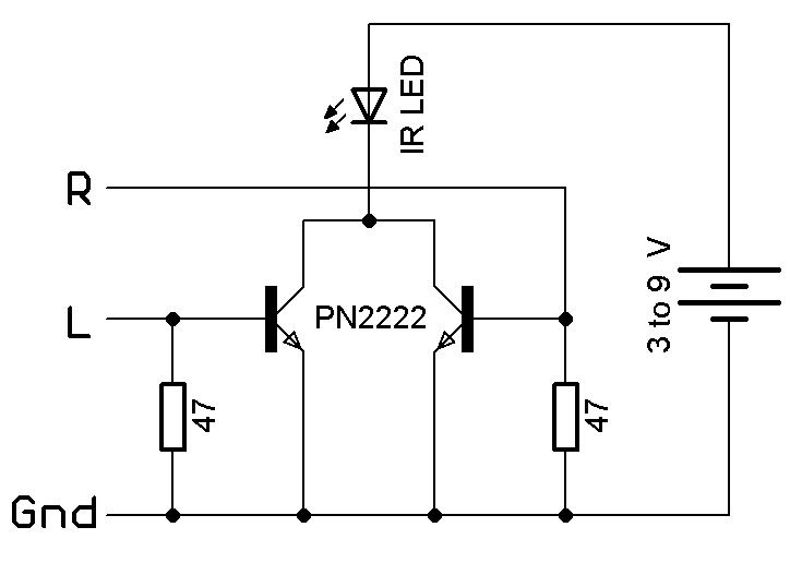 DIY IR Blaster Circuit For Smartphone