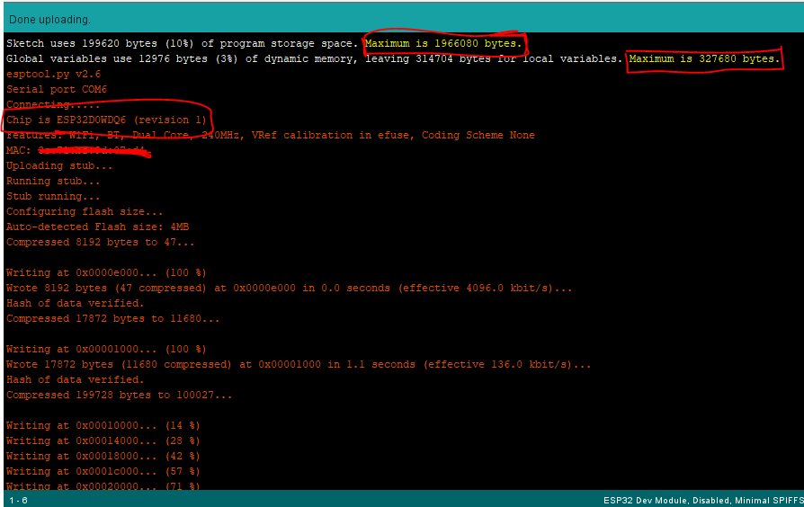 Solve ESP32 Sketch Too Big Error on Arduino IDE