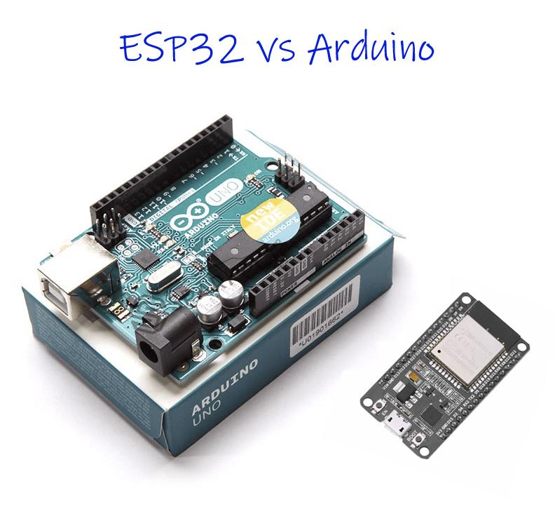 ESP32 vs Arduino How ESP32 is Different from Arduino
