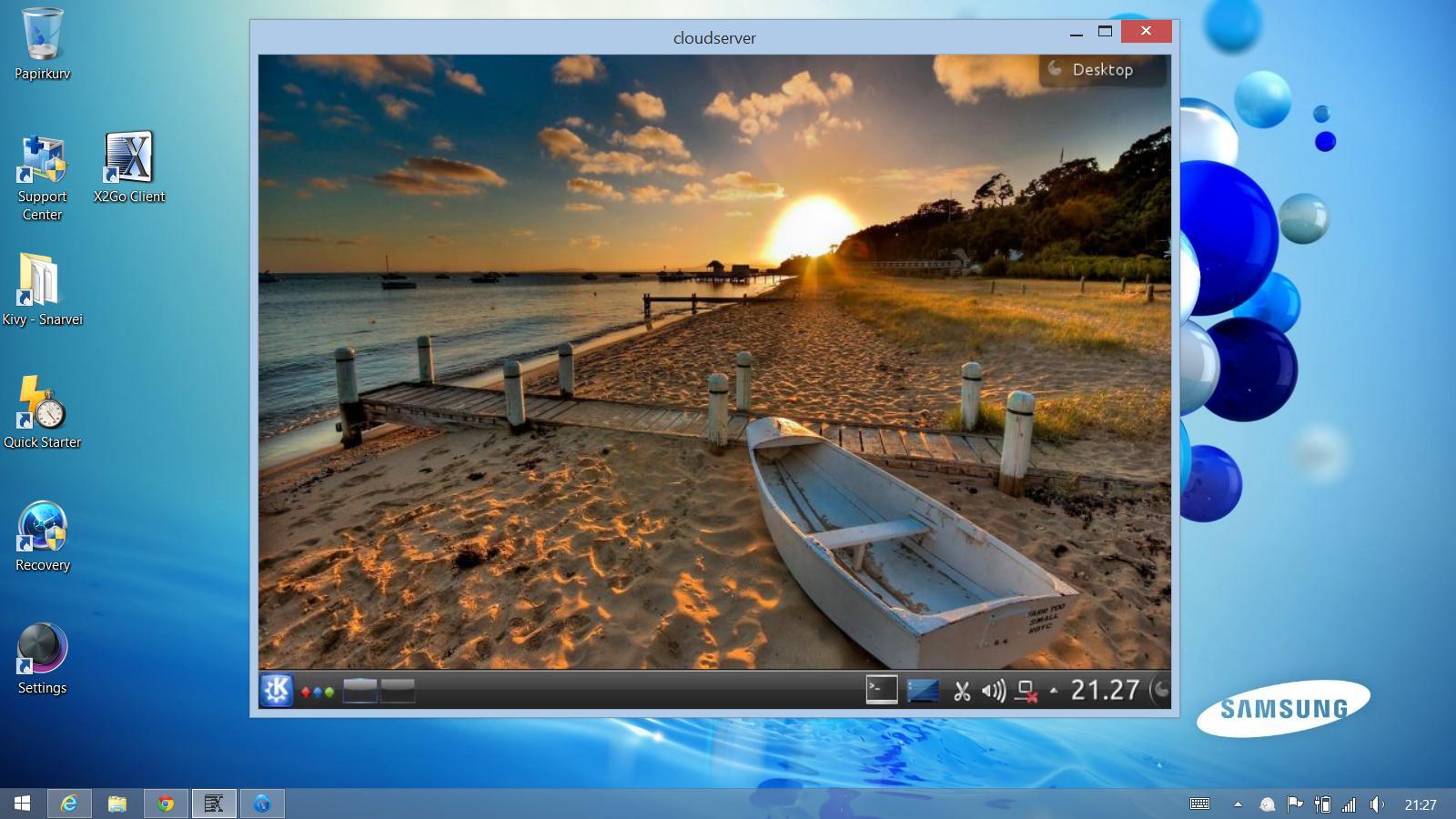 Set Up a Remote Desktop with X2Go Ubuntu 18-04