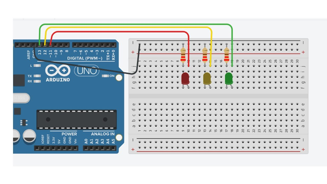 Arduino Independently Blink Multiple LED