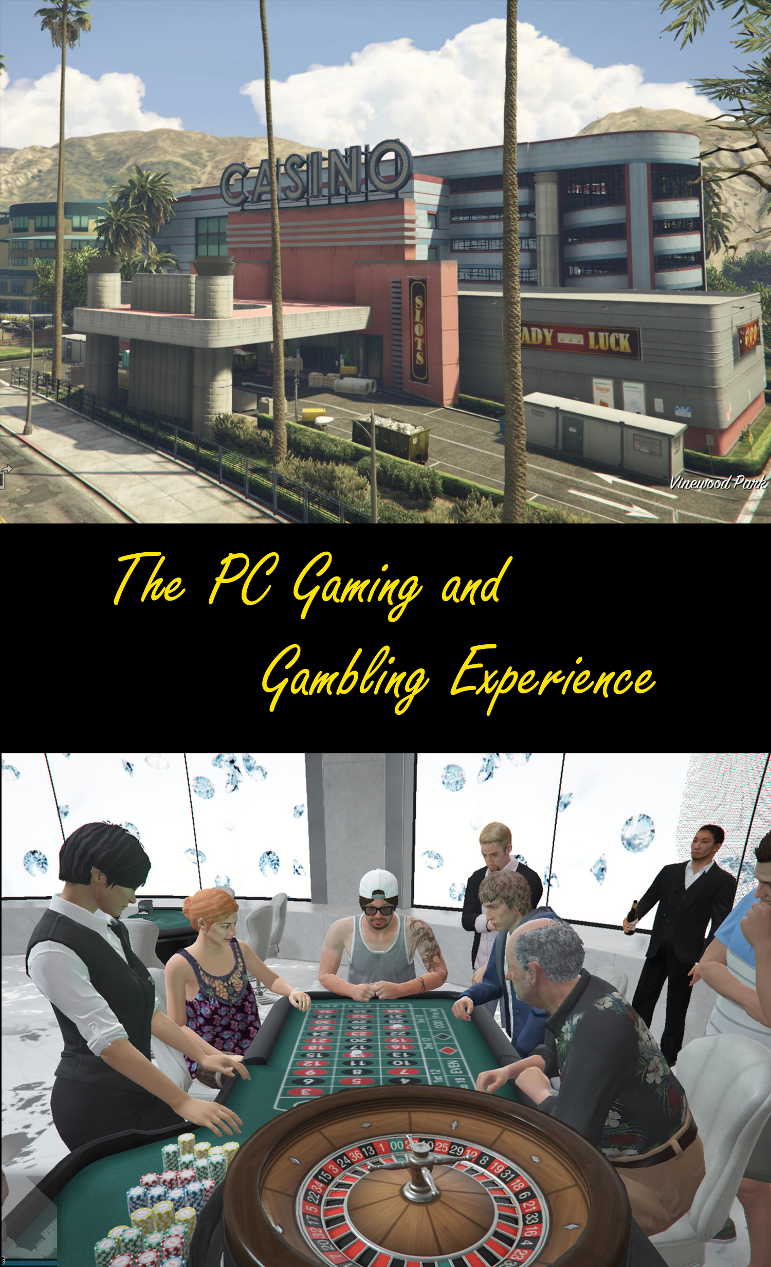 The PC Gaming and Gambling Experience
