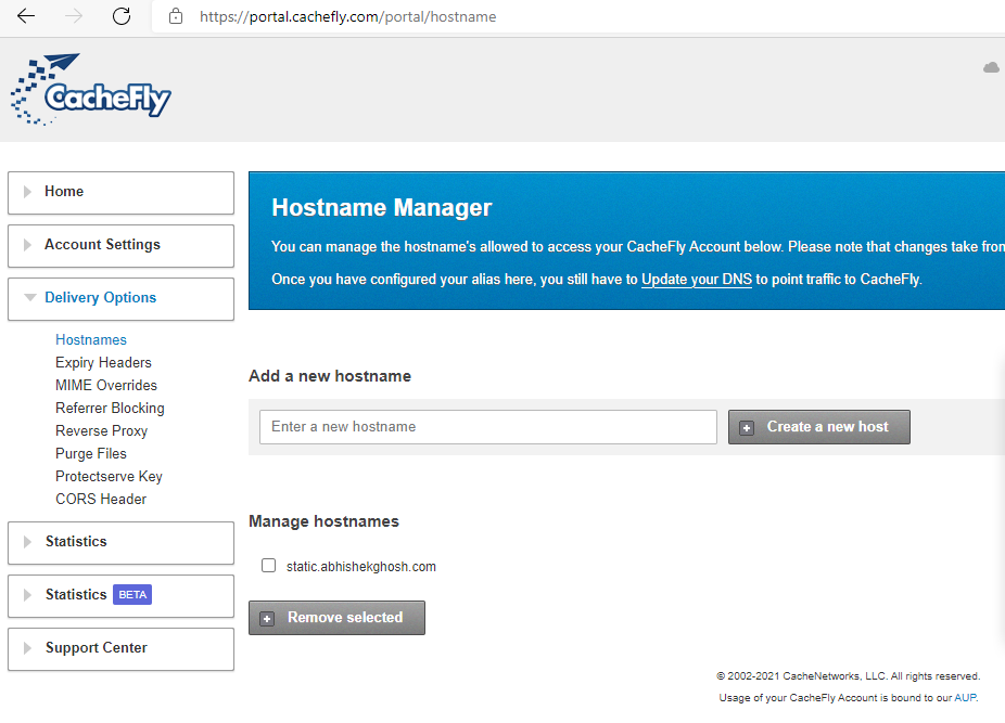 How to Serve a Whole Site From CacheFly CDN 1